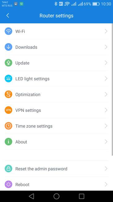 Настройка параметров роутера Xiaomi Mi Router 3