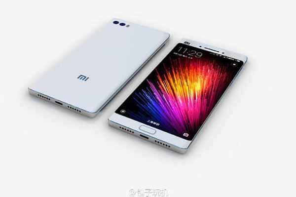 Xiaomi Mi Note 2 получит изогнутый дисплей