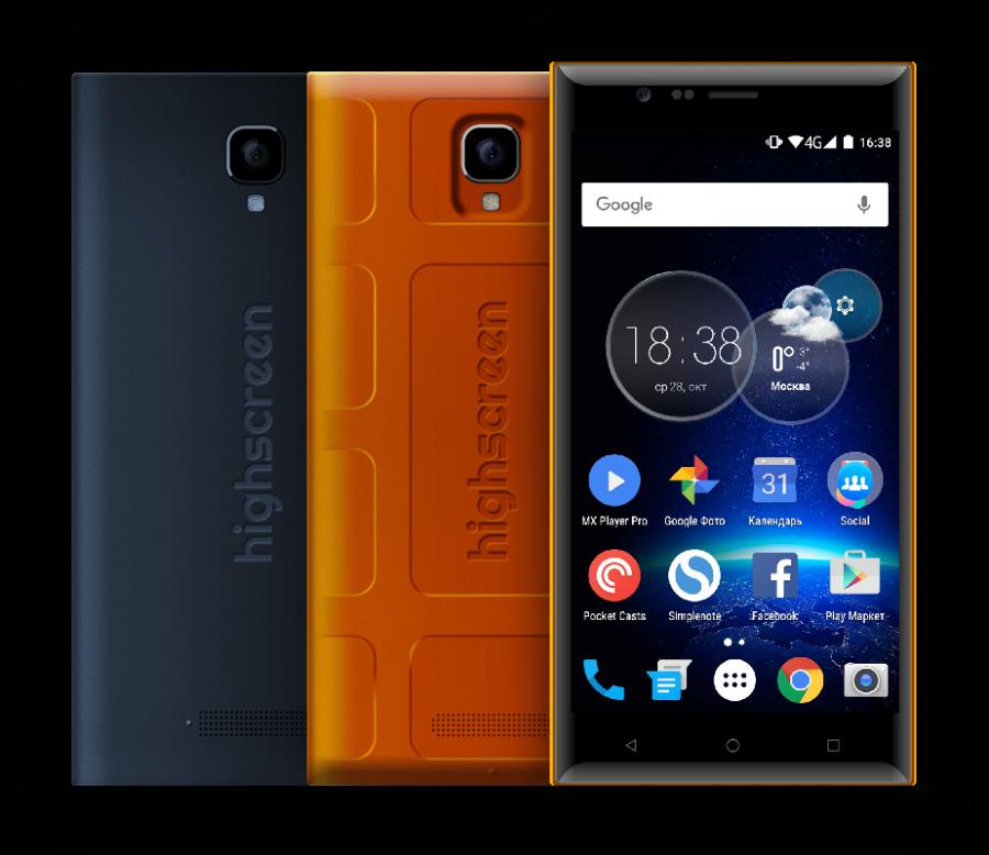 Смартфоны Highscreen, как альтернатива китайским производителям
