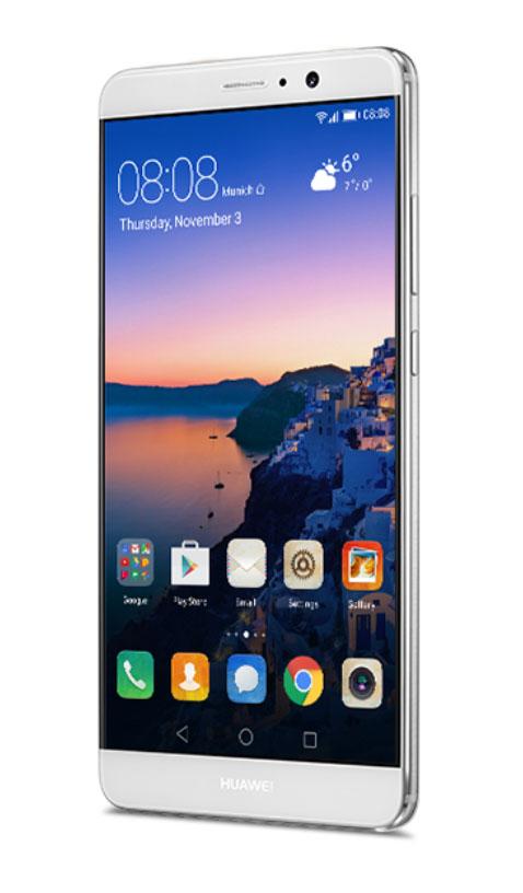 Серебристый Huawei Mate 9