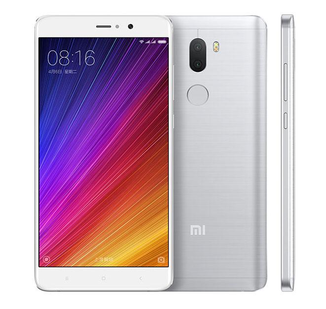 Серебристый Xiaomi Mi5S Plus