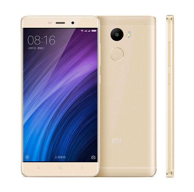 Золотой Xiaomi Redmi 4