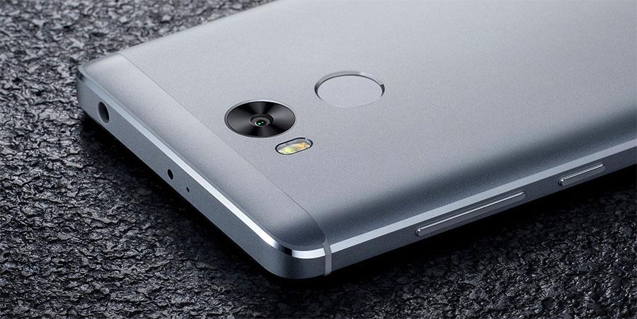 Камера Xiaomi Redmi 4 и сканер отпечатков пальцев