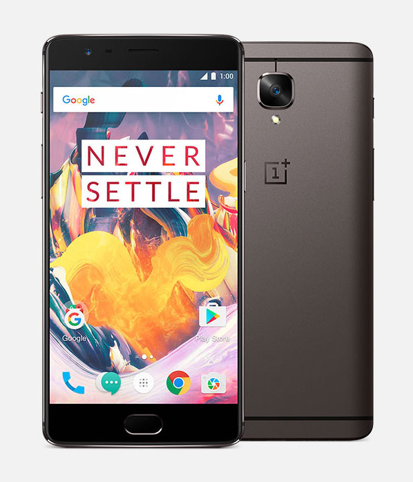 OnePlus 3T темно-коричневый или gunmetal