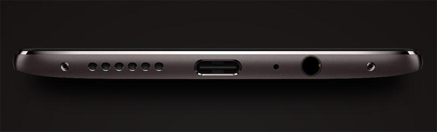 Разъёмы OnePlus 3T