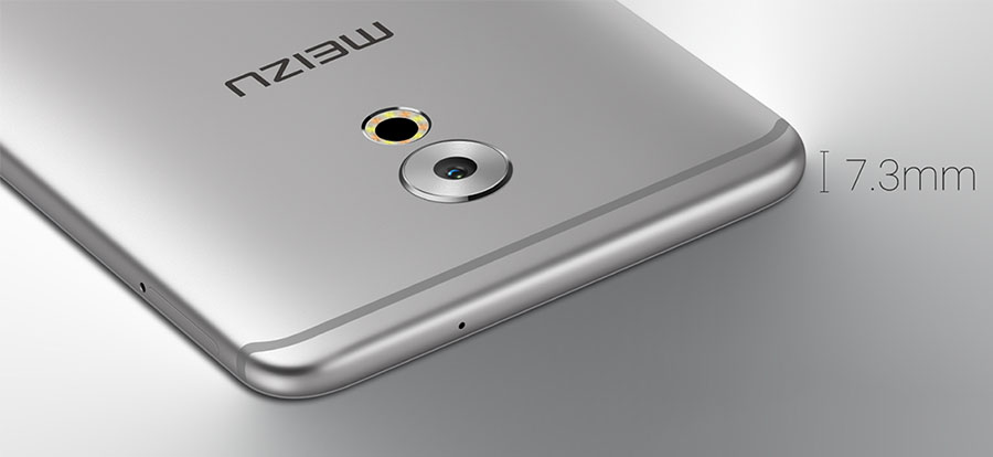 Толщина корпуса Meizu Pro 6 Plus всег 7,3 мм