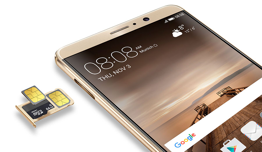 Huawei Mate 9 с двумя SIM-картами