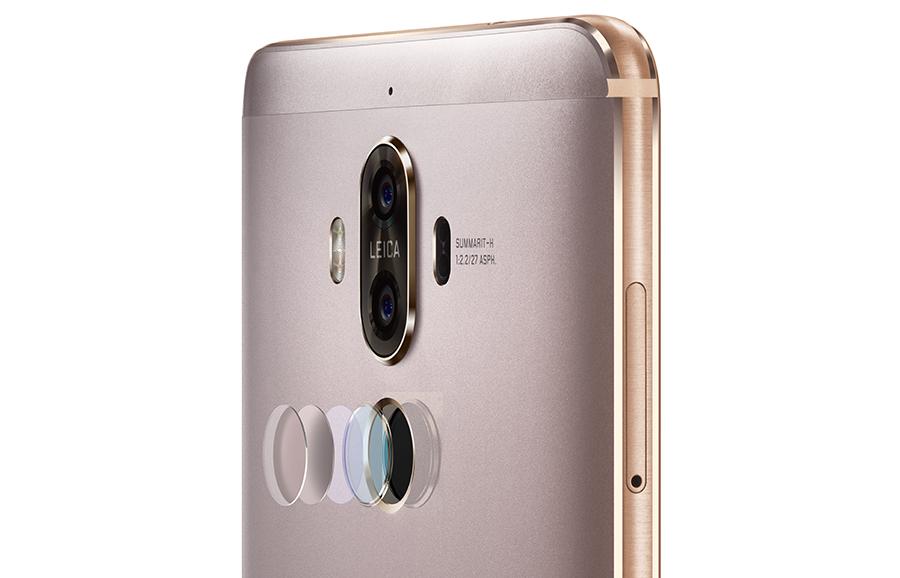 Сканер отпечатков пальцев в Huawei Mate 9 с 3D-сканированием
