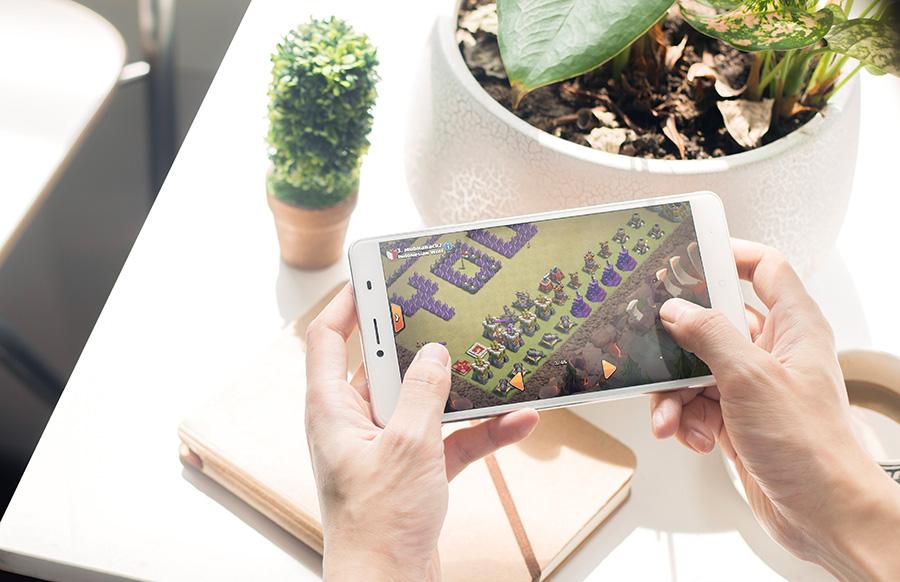 Doogee Y6 MAX удобен для игр и просмотра интернет-страничек