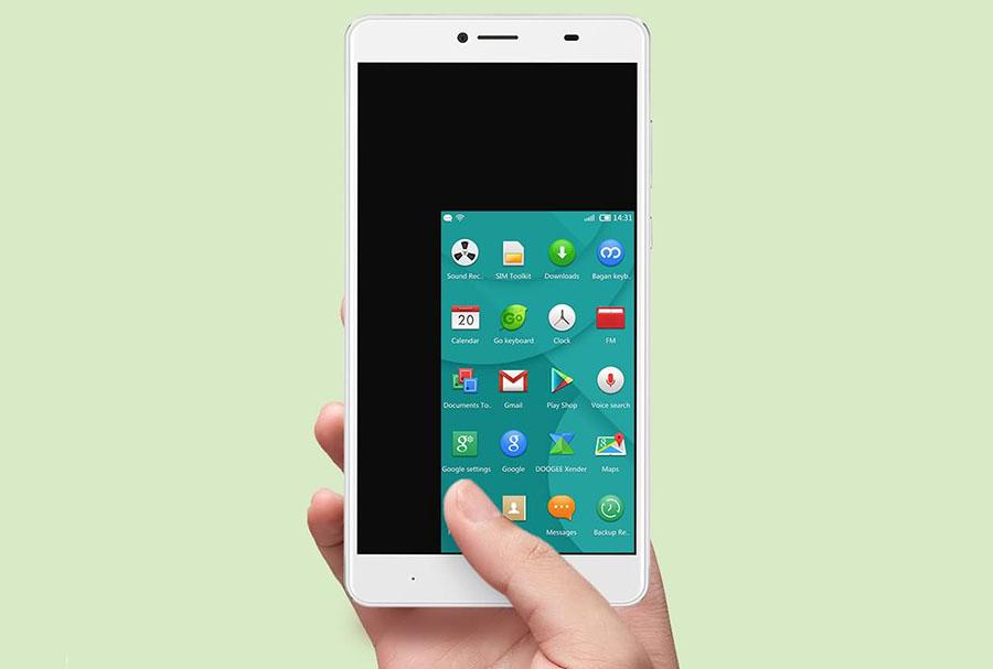Doogee Y6 Max умеет уменьшать полезную площадь экрана