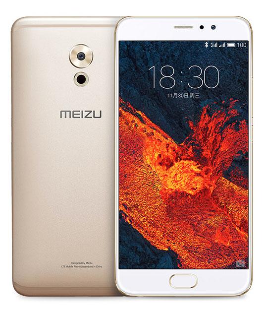 Золотой Meizu Pro 6 Plus