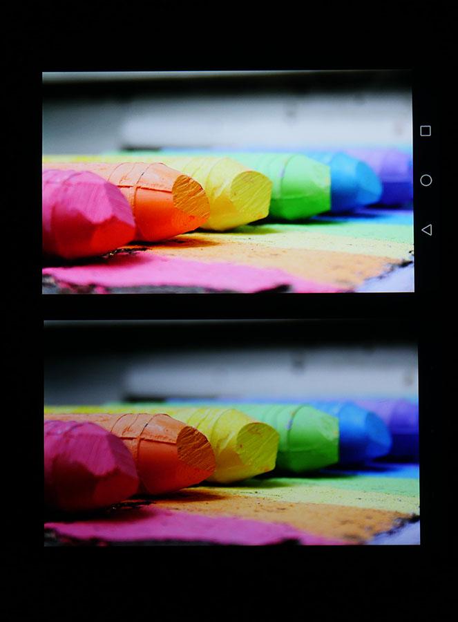 Фото экранов (Huawei Nove Plus сверху, UMi Max снизу) 4