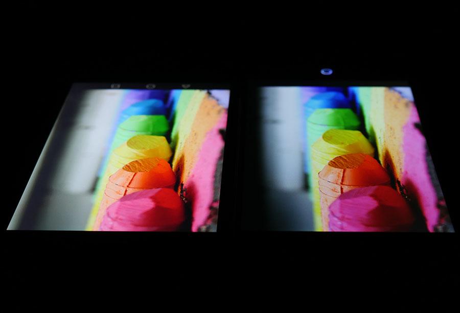 Фото экранов (Huawei Nove Plus слева, UMi Max справа) 4