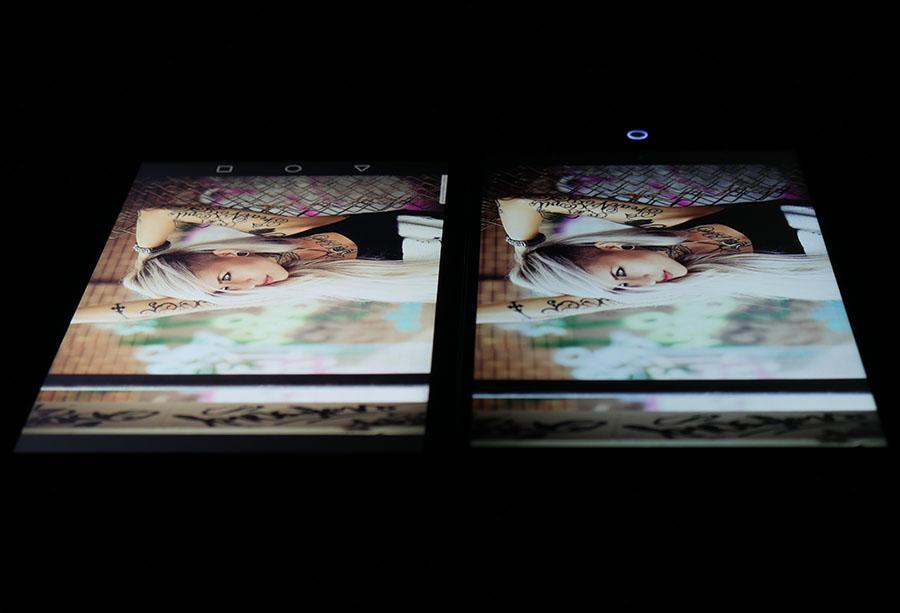 Фото экранов (Huawei Nove Plus слева, UMi Max справа) 3