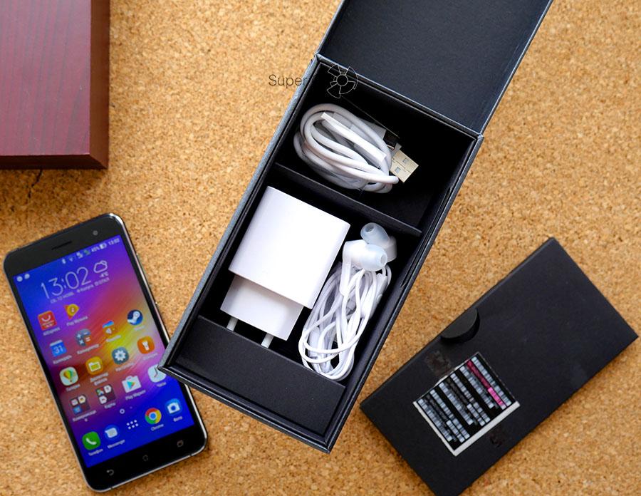 Комплектация Asus Zenfone 3