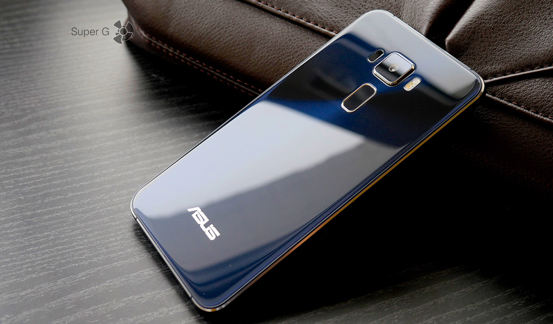 Asus Zenfone 3 имеет защитное стекло Gorilla Glass и на тыльной стороне