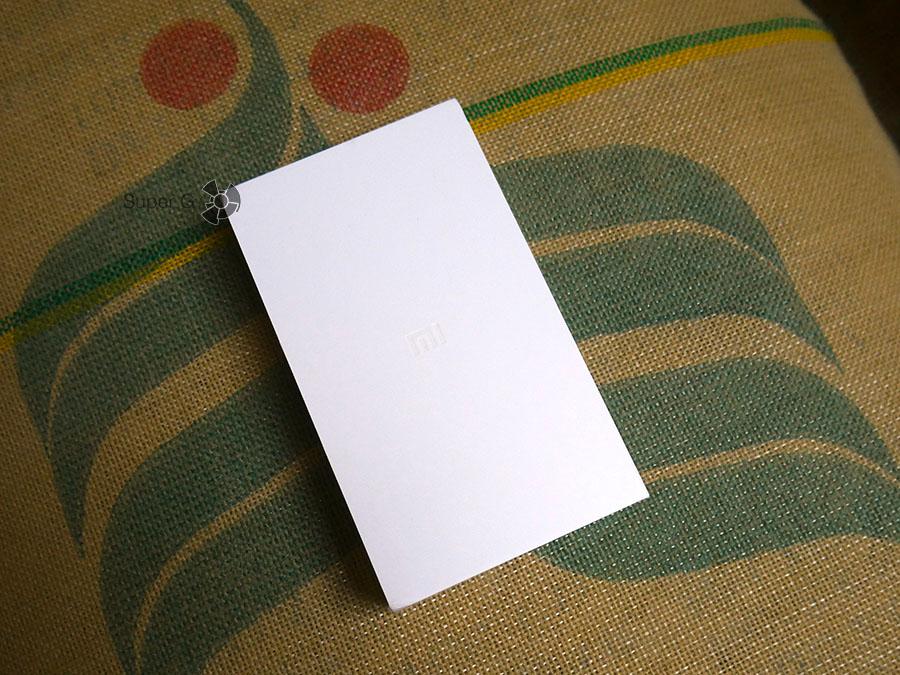 Коробка из-под Xiaomi Mi Note 2
