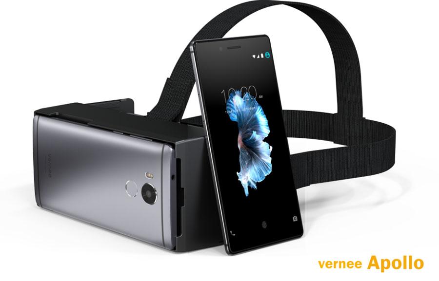 Vernee Apollo отлично подходит для VR-гарнитур, так как имеет Quad HD разрешение экрана