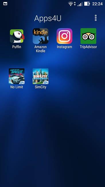 Предустановленные мусорные приложения в Asus Zenfone 3
