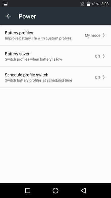 English settings of UMi Max 3