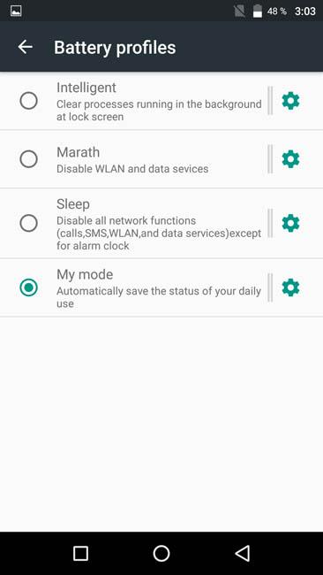 English settings of UMi Max 2