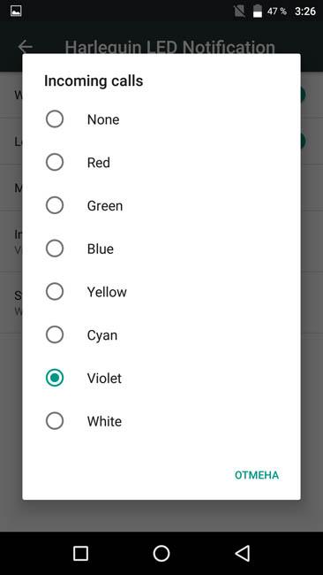 English settings of UMi Max 6