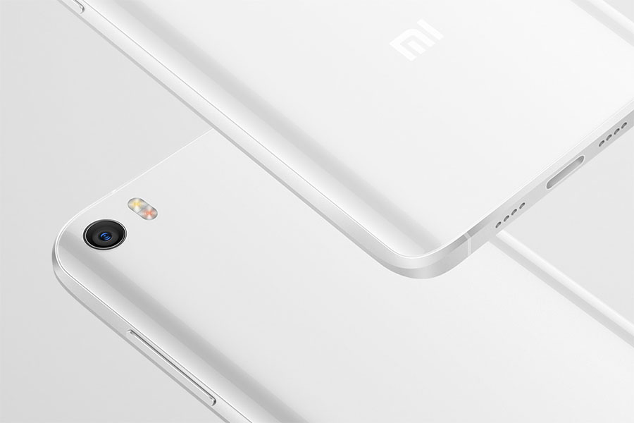 White Global Edition Xiaomi Mi5
