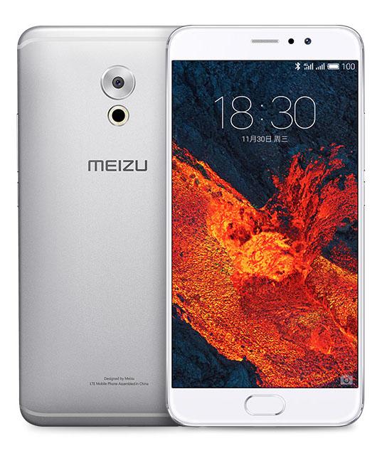 Meizu Pro 6 Plus серебристый и белый