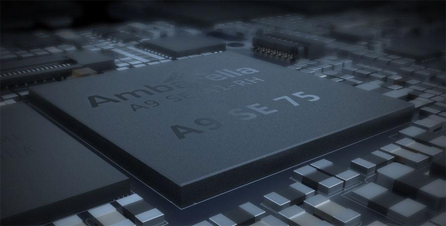 Yi 4K has chipset Ambarella A9SE75
