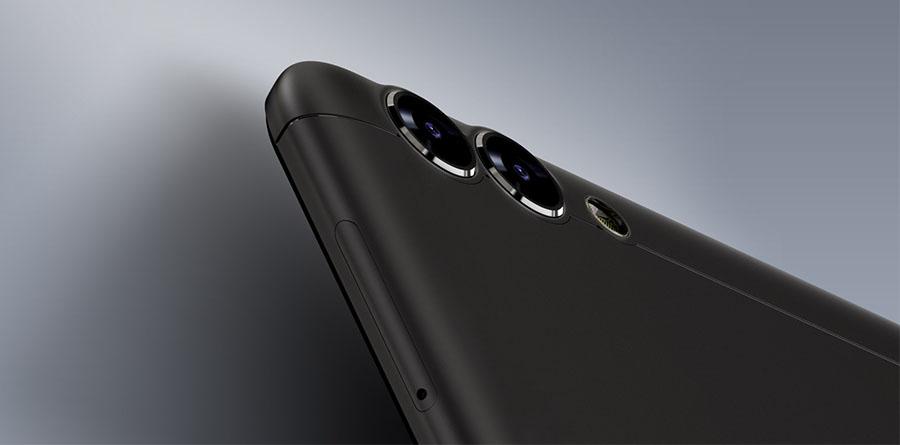 Bluboo Dual имеет две камеры