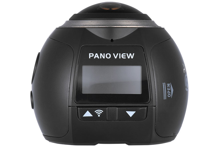 Andoer V1 оснащена встроенным экранчиком и Wi-Fi