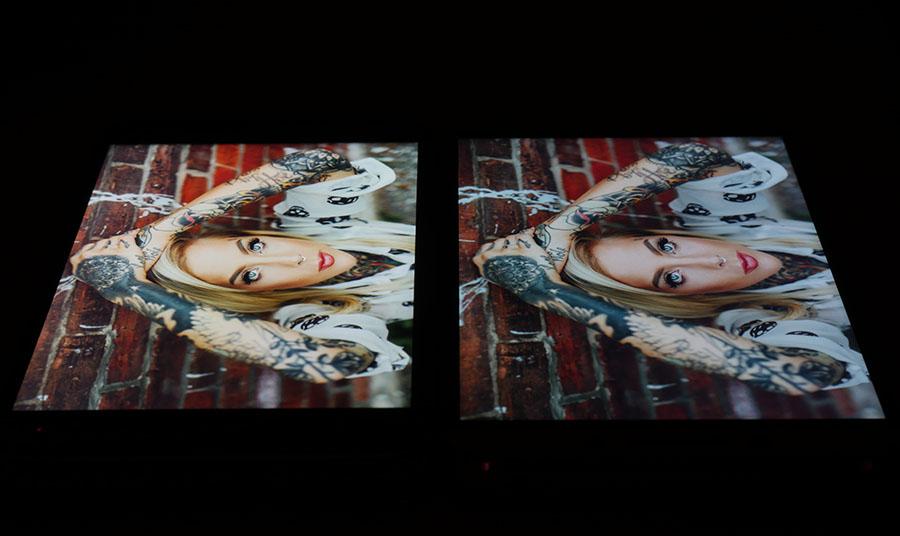 Сравниваем экраны Asus Zenfone 3 (слева) и LeEco Le 3 Pro (справа)