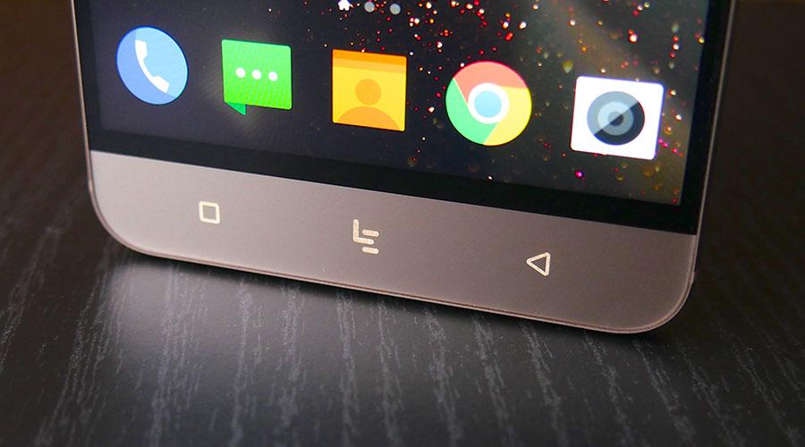 Сенсорные кнопки LeEco Le 3 Pro имеют подсветку