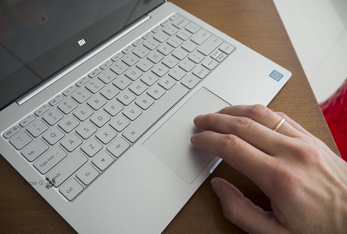 Удобство клавиатуры и тачпэда Xiaomi Mi Book Air 12.5