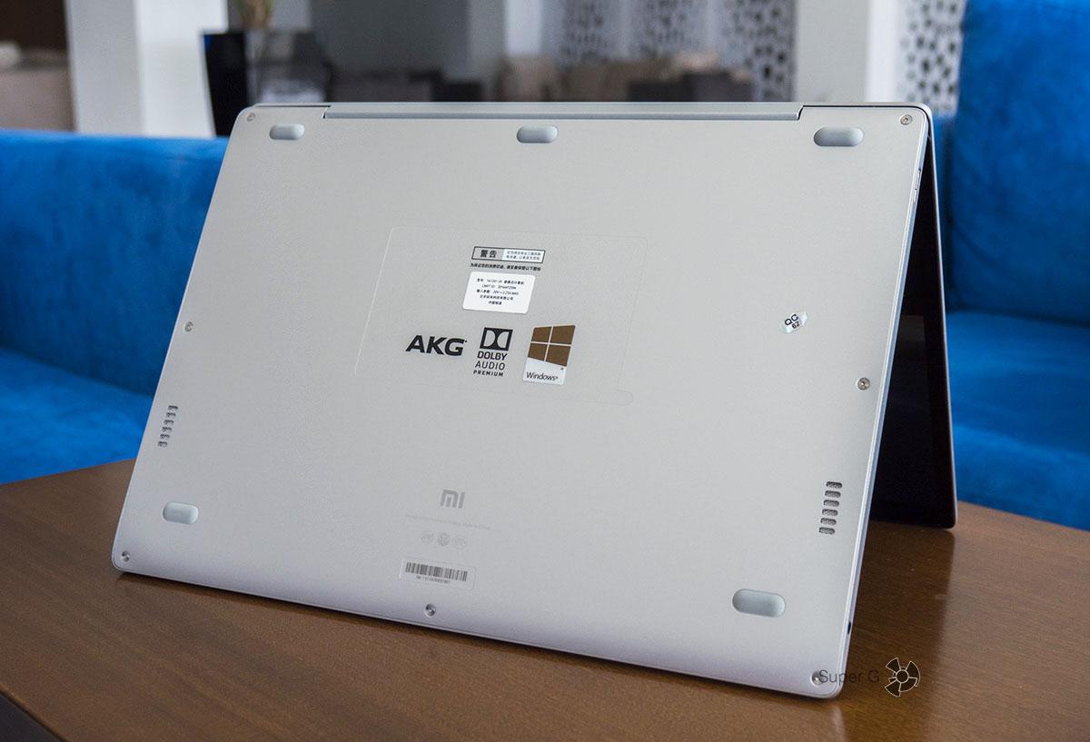 Динамики Xiaomi Mi Book Air 12.5 от AKG отвратительные