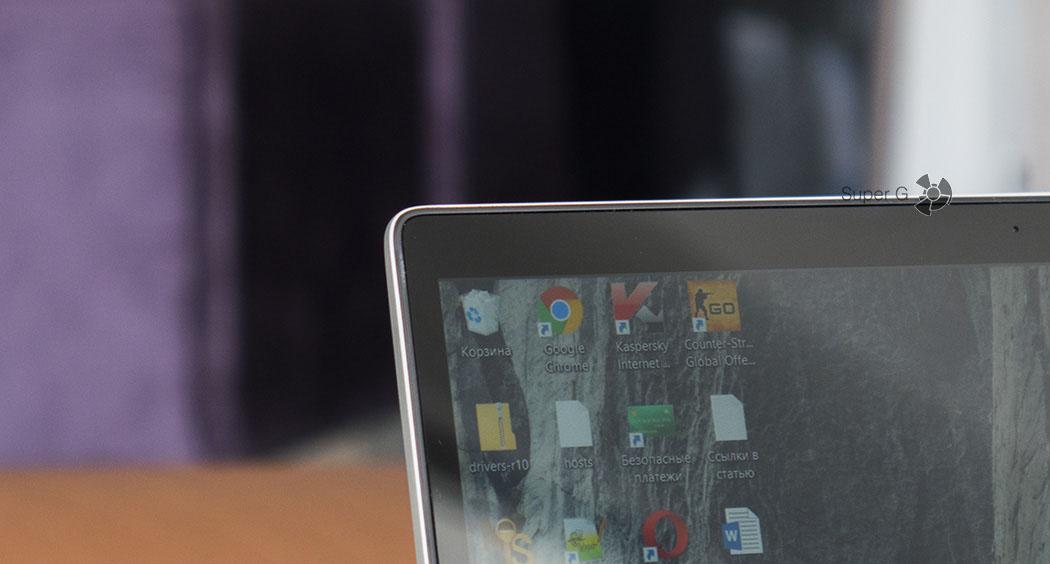 Боковые рамки дисплея ноутбука Xiaomi Mi Book Air 12.5
