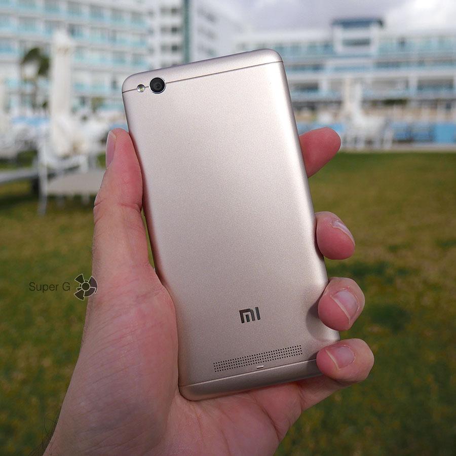 Золотой цвет корпуса Xiaomi Redmi 4A