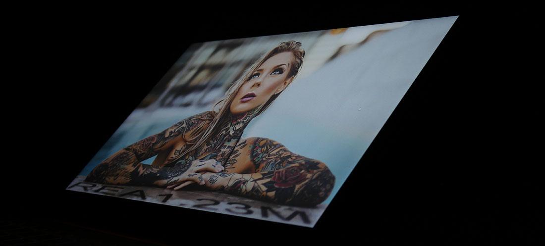 Экран Xiaomi Mi Book Air 12.5 под экстремальными углами