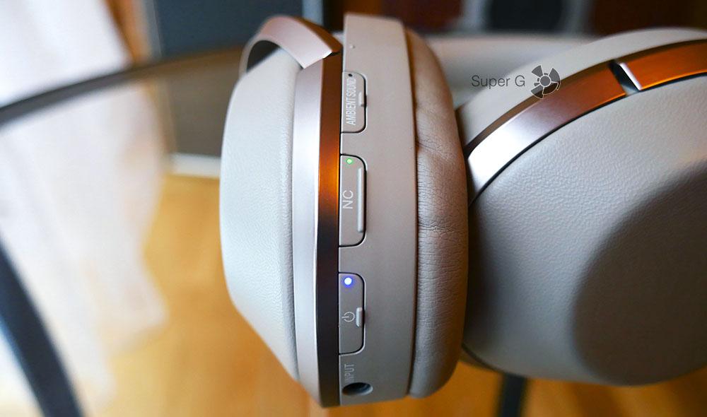 Кнопки управления Sony MDR-1000X