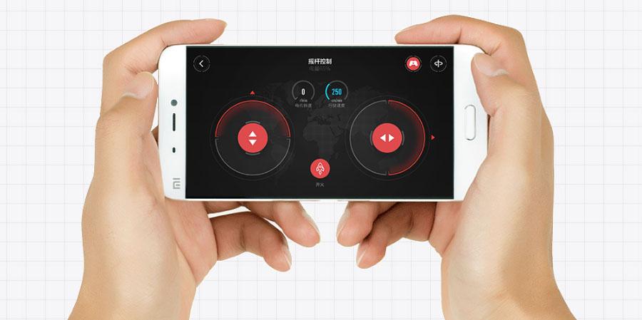 Управление роботом Xiaomi MITU DIY через приложение на смартфоне