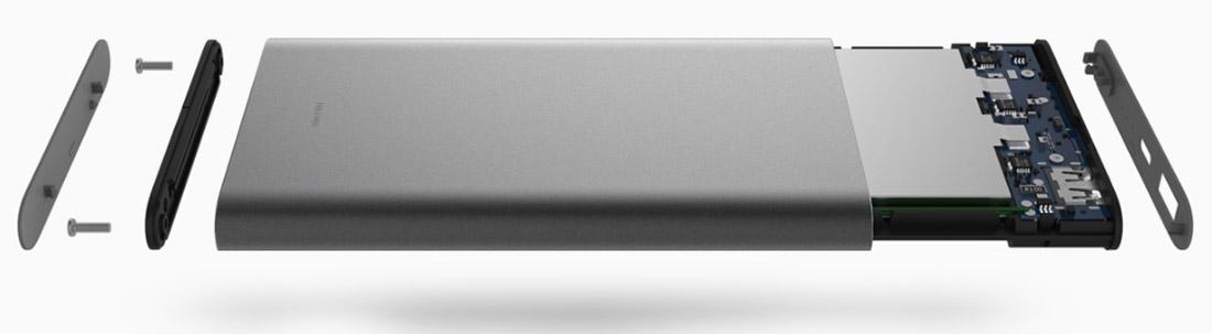 Xiaomi Mi Power Bank Pro lithium polymer batteries