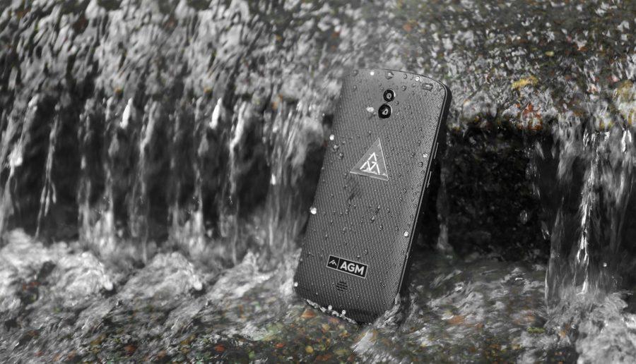 Защищенный смартфон AGM X1 обладает двойной камерой