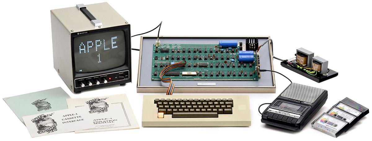 Apple I - первый компьютер компании
