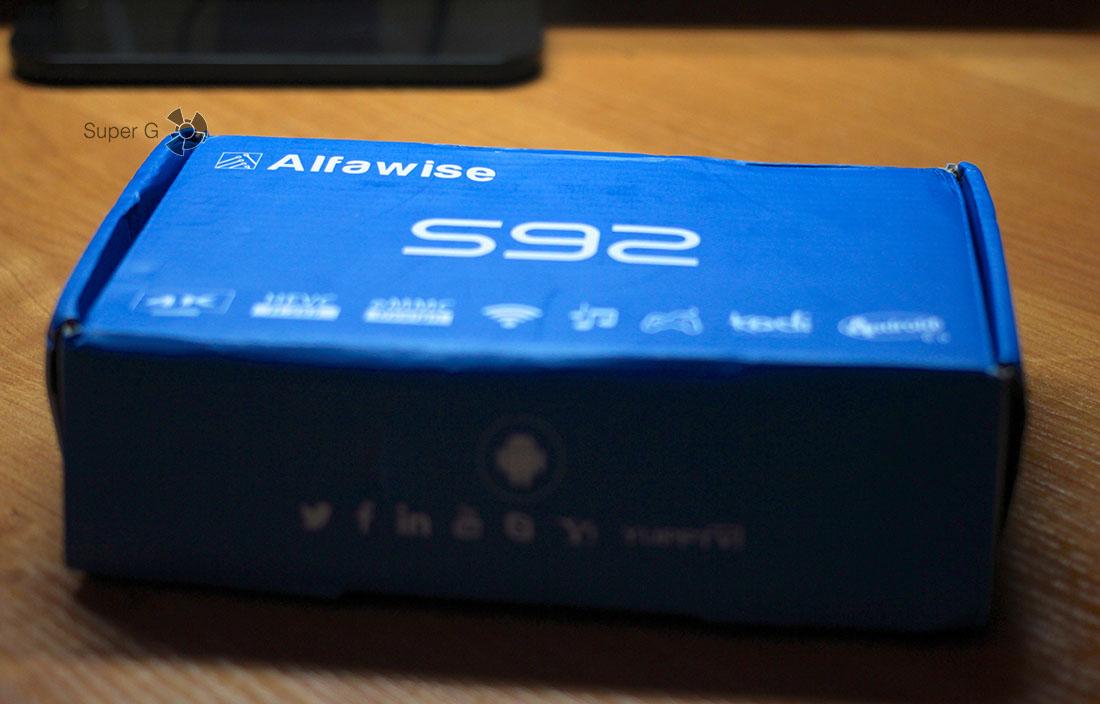 Коробка Alfawise S92