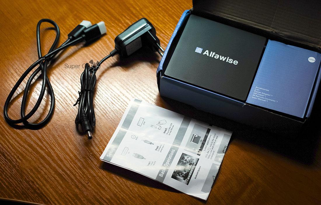 Комплектация Alfawise S92