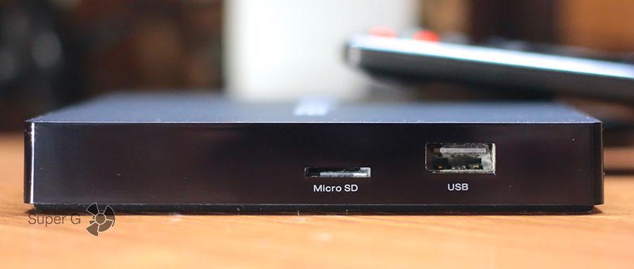 Разъёмы в Alfawise S92