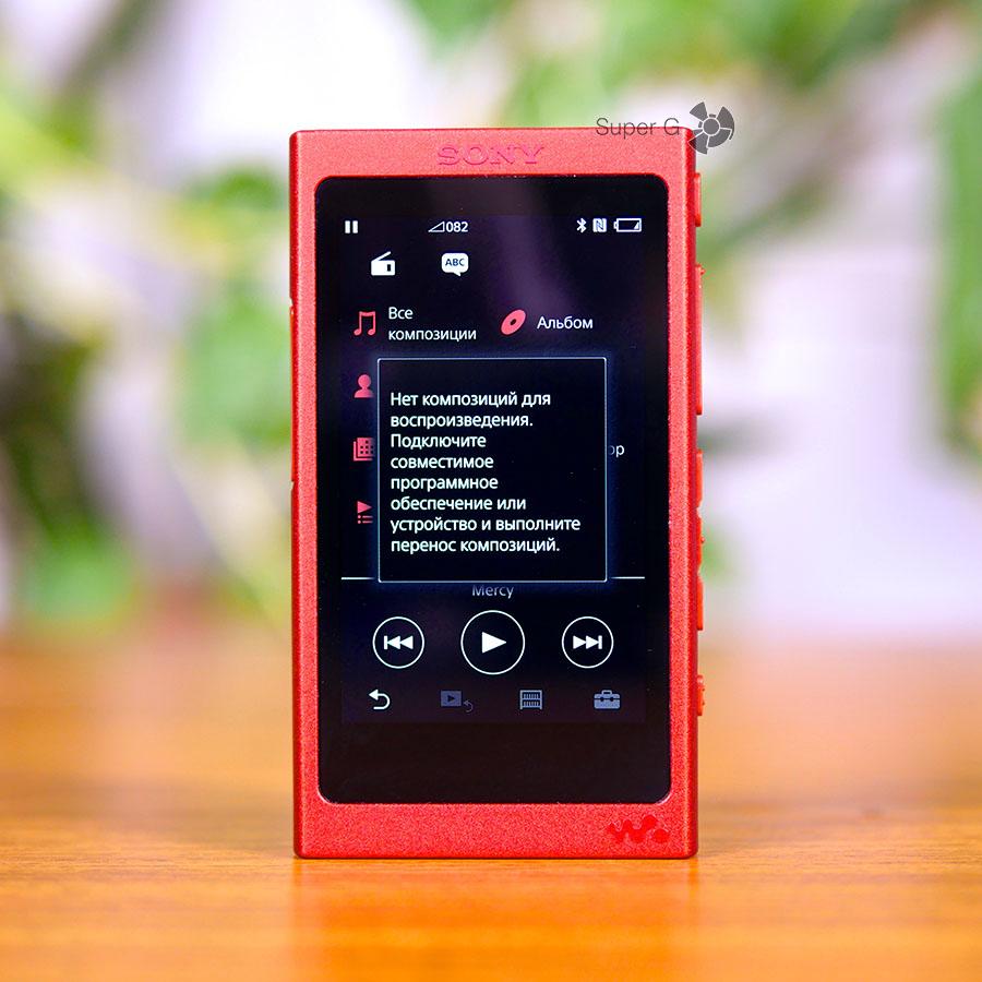 Чтобы слушать песни на Sony Walkman NW-A35 в Hi-Res нужно установить специальное приложение для ПК