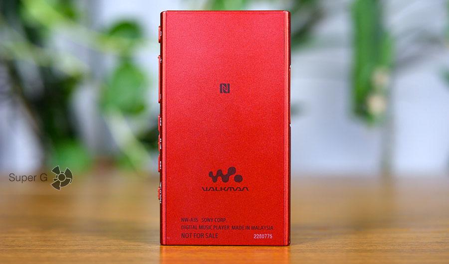 Sony Walkman NW-A35 оснащен NFC и Bluetooth