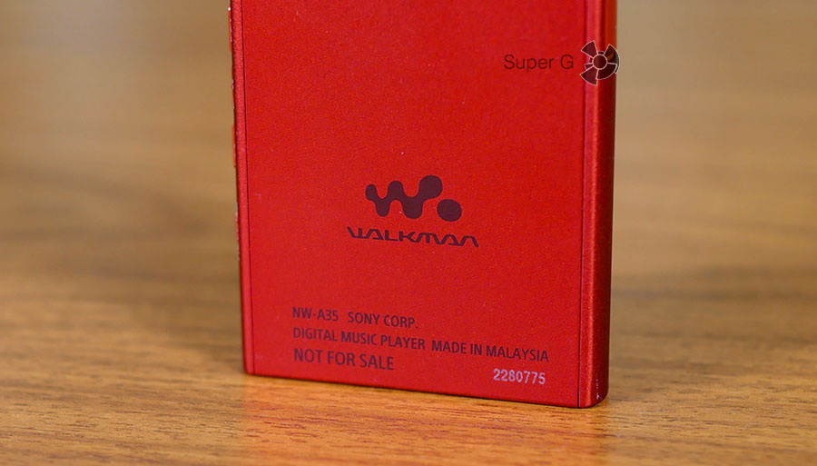 Sony Walkman NW-A35 Not for sale