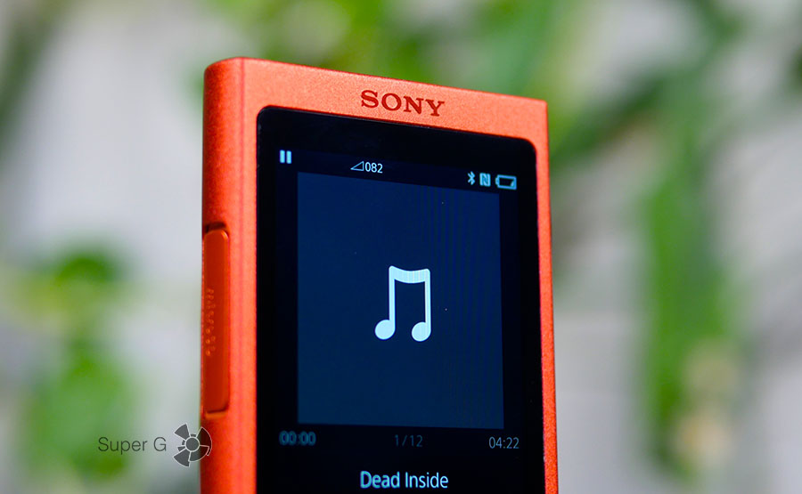 Дисплей Sony Walkman NW-A35
